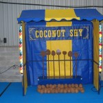 Coconut Shy Fairground stall hire