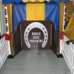 Horse Shoe Toss Fairground stall Hire