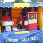 Popcorn and Candyfloss Fairground Stall Hire
