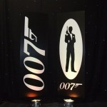 James Bond theme party entertainments